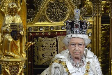 Queen Elizabeth at Westminster
