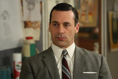 Hamm As Draper On 'Mad Men'