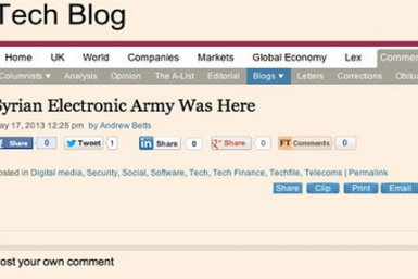 Financial Times Hacked