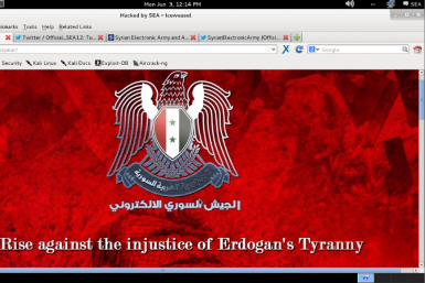 Syrian Electronic Army Joined #OpTurkey