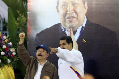 Maduro and Ortega in Managua