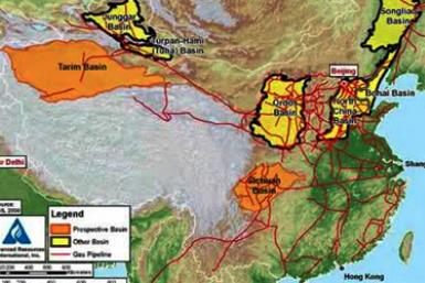 China Shale Map (for FP placement only)
