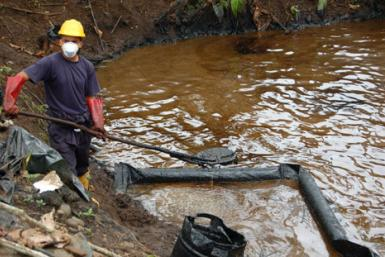 Ecuador oil pollution