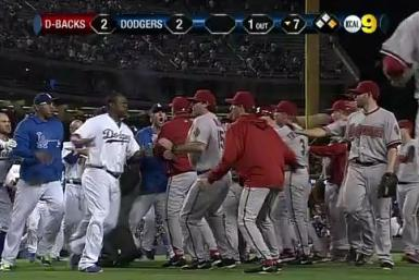 Dodgers-Diamondbacks Brawl