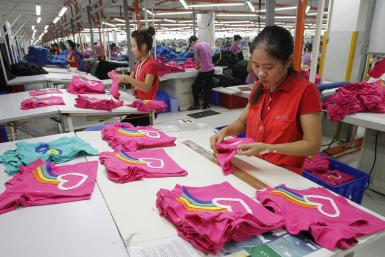 Garment Factory Near Hanoi