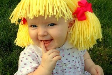 Cabbage Patch Wigs 6