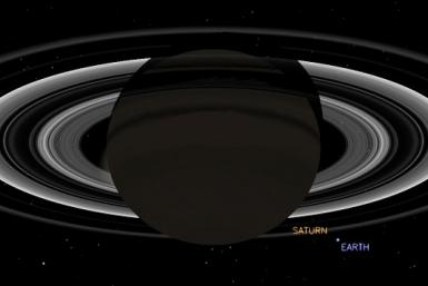 Earth From Saturn's Neighborhood