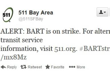 SF Bart Strike