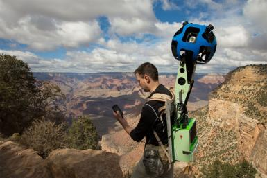 Google Trekker At Grand Canyon