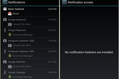 Android 4.3 Notifications?