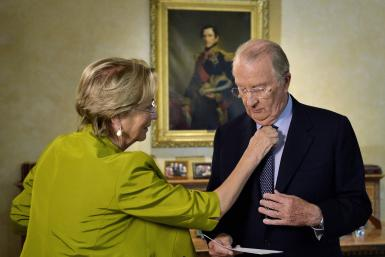 King Albert II and Queen Paola