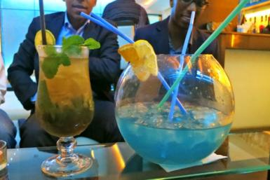 Cocktails in Nairobi