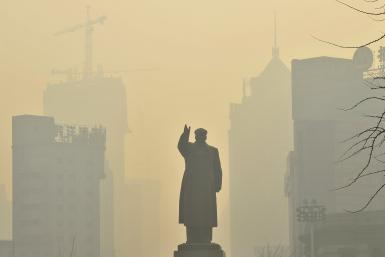 China Shenyang smog May 2013
