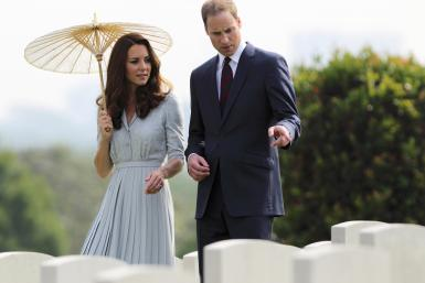Middleton And Prince William