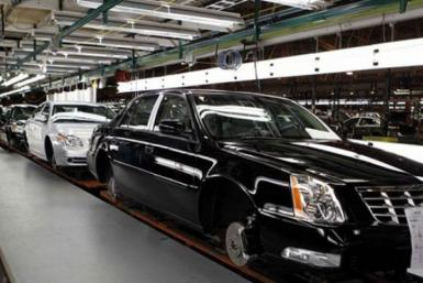 GM Cars on production line