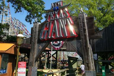 Texas Giant Roller Coaster