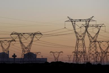 Power Lines in South Africa