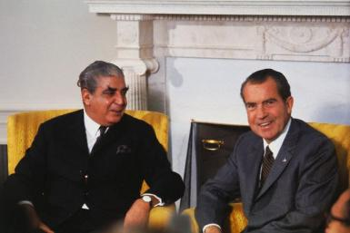 Yahya Khan and Richard Nixon