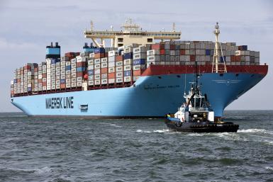 Maersk McKinney ship Aug 2013