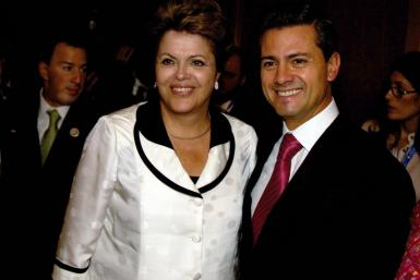Rousseff and Pena Nieto