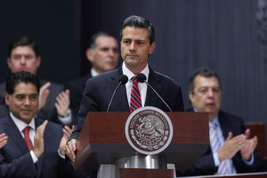 Enrique Peña Nieto, president of Mexico