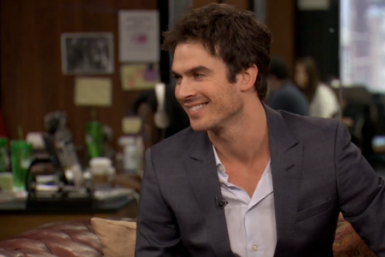 Ian Somerhalder Talks Christian Grey