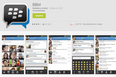 BBM For Android iPhone Reviews