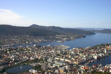 Bergen Norway WikiCommons