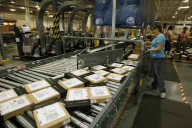 Amazon Warehouse Kentucky Getty Images