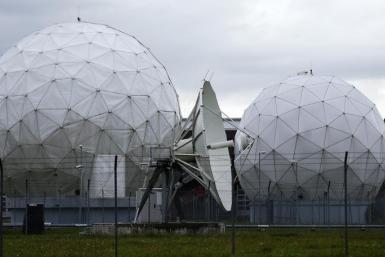 NSA dish Munich Germany 2013