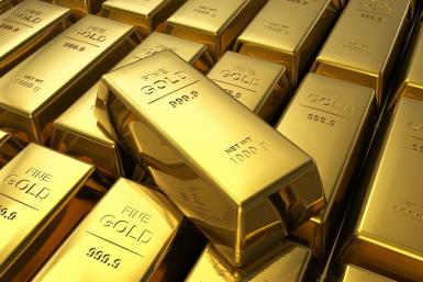 Gold Bars shutterstock 2