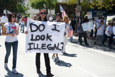US Immigration Rally LA Calif 2010 Shutterstock