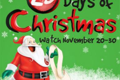 abc family countdown to christmas