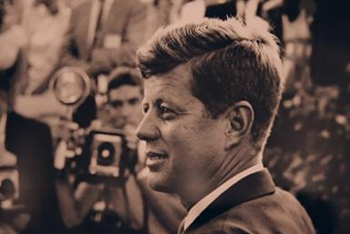 New Exhibit Shows Rare Photos Of JFK
