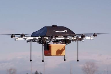 Amazon Wants To Fly Stuff To Your Door