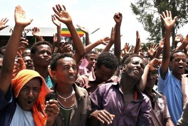 Opposition Rally in Ethiopia