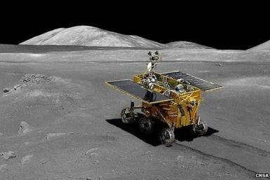 China Moon Rover