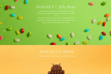 jelly bean kitkat