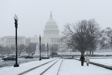 US Capitol Winter Shutterstock