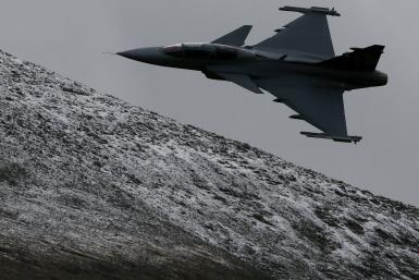 Swedish Gripen Aircraft