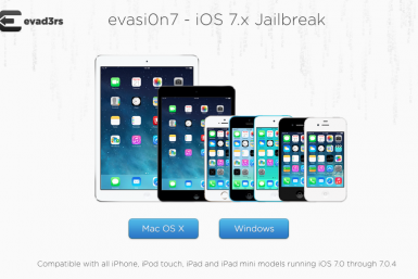 Evasi0n 7 iOS iPhone 5S 5C iPad Air Mini Jailbreak