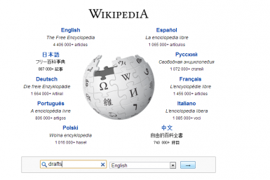 Wikipedia News Drafts Feature Wiki Edit New Article Editing