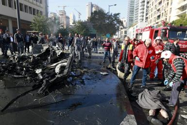 Explosion In Beirut Kills Former Finance Minister Mohammed Chatah