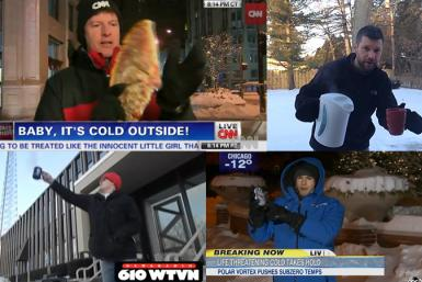 Boiling Water Polar Vortex News Segments