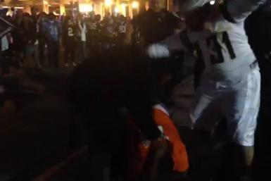 Chargers Fans Beat Up Broncos Fan
