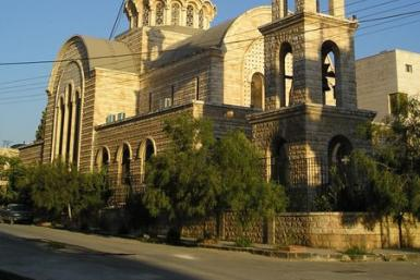 Orthodox church in Syria