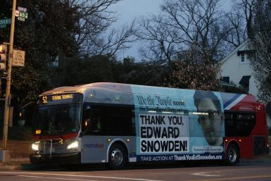Snowden Bus Ad_Washington