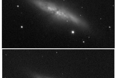 Supernova In M82 Galaxy