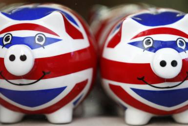 Union Jack Piggy Bank