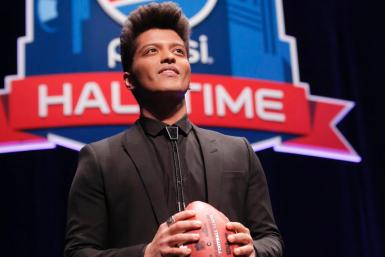 Bruno Mars Super Bowl XLVIII